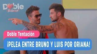 Doble Tentación / Pelea entre Bruno y Luis por Oriana / Capítulo 4