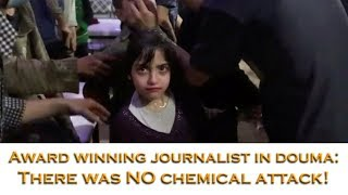 The children in the Douma video were suffering from dust inhalation - NOT a chemical attack!