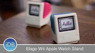 Elago W4 Apple Watch Stand  with Retro iMac Design - Review