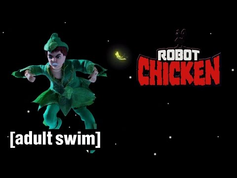 The Best of Peter Pan Robot Chicken Adult Swim