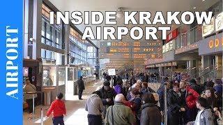 Inside Krakow Airport Terminal 1 - John Paul II International Airport Krakow Balice - KRK