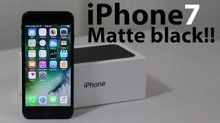 iPhone 7 Unboxing : Matte Black | In India