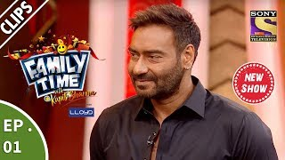 Family Time With Kapil Sharma | Ep 1 | Ajay Devgn Arrives To Raid Kapil's New Show |25th March, 2018