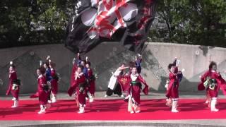 将門yosakoi「響」さん「けやき公園」 結城舞祭2014