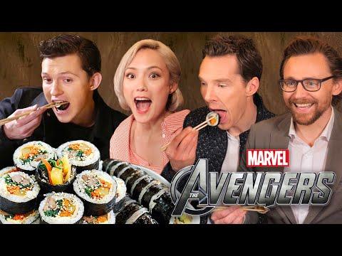 한국음식을 먹어본 어벤져스 배우들의 반응 실화