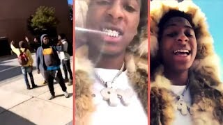 NBA YoungBoy First Day Back In High School After YoungBoy Was Accepted In Public School
