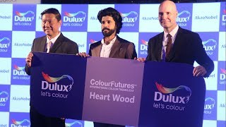 Farhan Akhtar At Launch Of Colour Of the Year 2018 | Dulux Paints | Bollywood News 2018