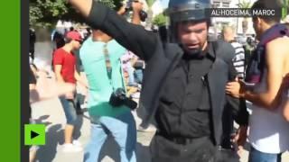 Violents affrontements entre manifestants et policiers à Al-Hoceïma, au Maroc