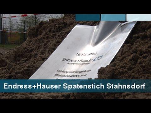 Endress+Hauser - Spatenstich für Erweiterungsbau in Stahnsdorf