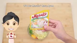 Dapur Umami - Bayam Panggang Masako