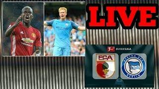 Man Utd vs Man City + Hertha BSC vs Augsburg