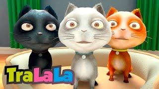 Trei pisicuțe (Three Little Kittens în română) | TraLaLa