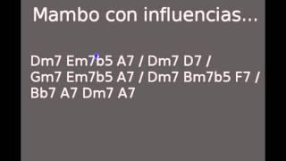 Latin Jazz backing track in Dm - Mambo