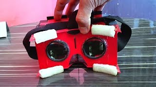 How To Make VR Headset At Home - DIY