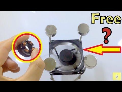 Computer Fan Magnet motor Free Energy