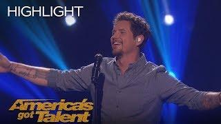 Michael Ketterer Sings Song Written For Him By Garth Brooks   America