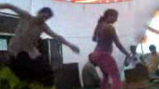 sexy dance on stage in front of people..