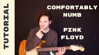 Como Tocar - Comfortably Numb de Pink Floyd Tutorial - Acordes y Ritmo
