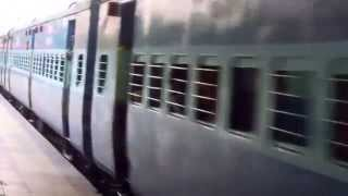 SOUTH INDIAN TRAIN TIRUPATI TO GUNTAKAL