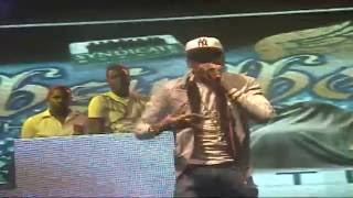 Vybz Kartel  @  Stand Out Block Concert  12 /12/2010