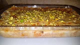 أم علي بأسهل طريقة و ألذ مذاق / تحلية من المطبخ المصري Oum Ali
