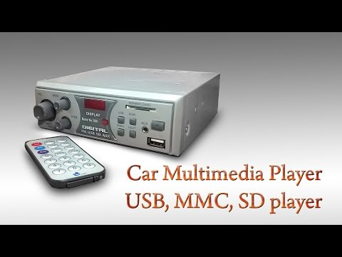 Car Multimedia Player or USB, MMC, SD Player Indian Model no. 1001