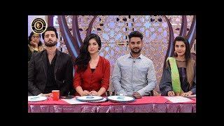 Good Morning Pakistan - Agha Ali & Sarah Khan - Top Pakistani show