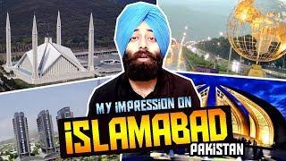 ISLAMABAD : Most Beautiful Capital City of PAKISTAN - My Reaction #149