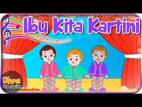 Ibu Kita Kartini | Diva bernyanyi | Diva The Series Official