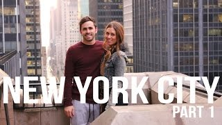 Our First Time in New York City - Travel Vlog pt. 1