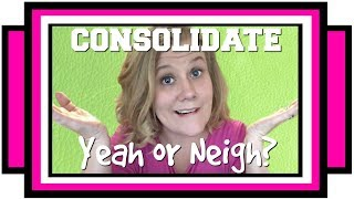 Debt Consolidation: Pros and Cons