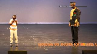 Kid dance Azonto at GHANA MOST BEAUTIFUL 2013 CANADA