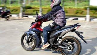 Review ergonomi Honda Supra GTR 150