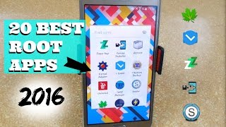 20 Best Android Root Apps - 2016