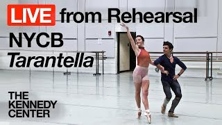 New York City Ballet LIVE Rehearsal at The Kennedy Center: