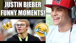 Justin Bieber - BEST Funny Moments of 2017 #5 REACTION