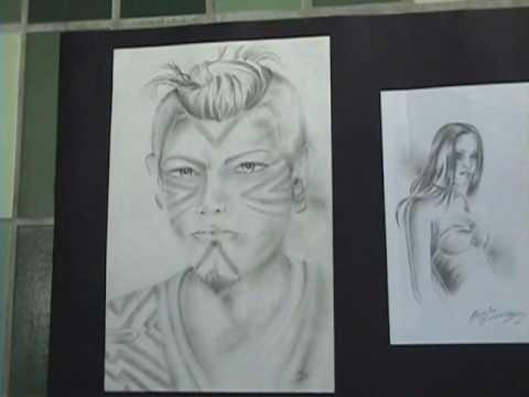 Desenho e Pintura Corporal Indigena.wmv