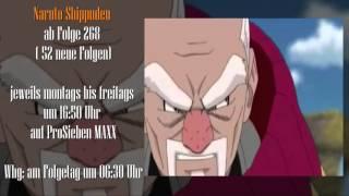 Naruto Shippuden ab Folge 268 (52 neue Folgen) ab 12.02.2016 auf ProSieben MAXX