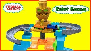 THOMAS AND FRIENDS Adventures ROBOT RESCUE SET Unboxing & Playtime|Thomas & Friends Toys Train