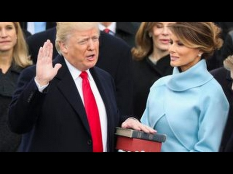 watch History made: Trump becomes the 45th President of the United States