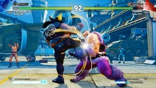 Street Fighter V : BETA 2.10 ! Zangief New Moves ! :D