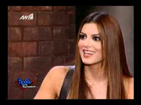 gossip tv gr Η Σταματί� α Τσιμτσιλή μιλά για το καυτό φιλί στο� γάμο της