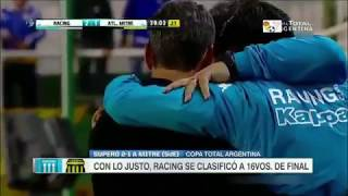 Racing  vs  Mitre (2 -1) RESUMEN Y GOLES COPA ARGENTINA -HD
