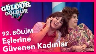 Güldür Güldür Show 92. Bölüm, Eşlerine Güvenen Kadınlar Skeci