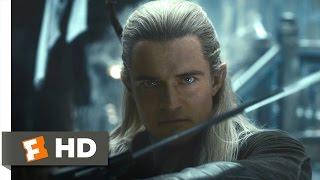 The Hobbit: The Desolation of Smaug - Legolas vs. the Orcs Scene (8/10) | Movieclips