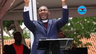 Dr Lawrence Tetteh's full sermon at Ebony's funeral