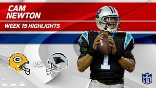 Cam Newton Highlights   Packers vs. Panthers   NFL Wk 15 Player Highlights