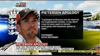 Cricket Pietersen Apology not enough for Strauss