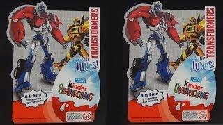 Kinder Überraschung - Transformers [Limited Special 2014] Kinder Surprise Egg