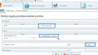 Netia Spot - konfiguracja portów pod P2P